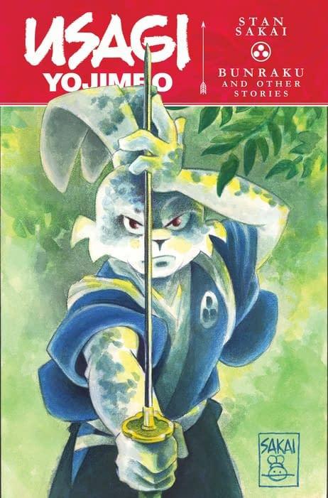 Usagi YojimboVol. 1:Bunraku & Other Stories published by IDW Publishing.