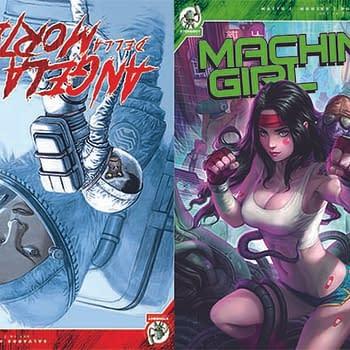 Red 5 Comics Debut Angela Della Morte, Machine Girl, Riptide 2 and Butcher Queen at San Diego Comic-Con 2019