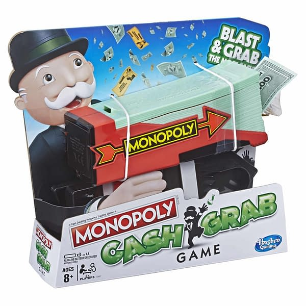 Hasbro Reveals the Monopoly Cash Grab Game with Money Blaster