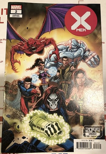X-Men #2, 2099 Variant Printing Problem With No Beginning or End…