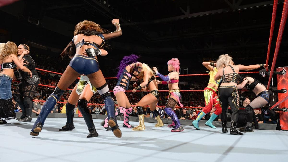 Royal Rumble 2018 Women's Match