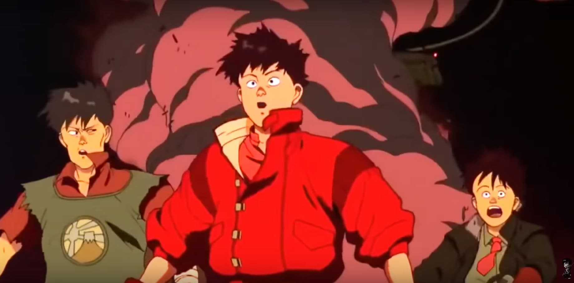 "Kaneda and Motorcycle Crew, from ""Akira"" 1988"