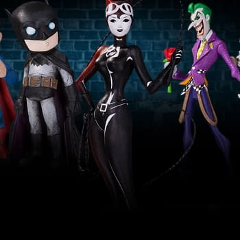 DC Launch Artist Alley Vinyl Figures From Christopher Uminga HaiNaNu Nooligan Saulque And Sho Murase
