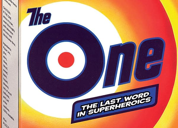 The One #1 cover by Rick Veitch