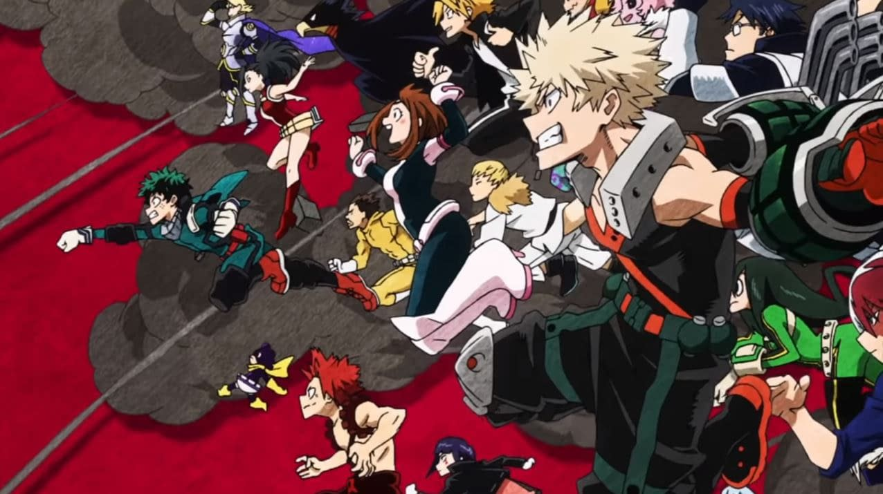 """My Hero Academia"" Season 4 Will Premiere at Anime Expo!"