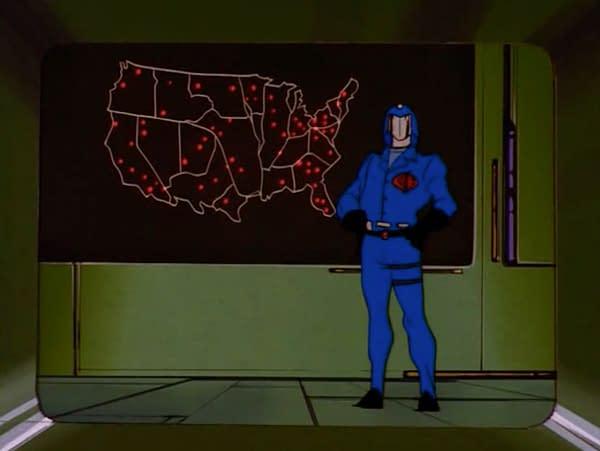 Cobra Commander reveals Cobra's plans to release Snake Eyes: Deadgame #1 variants across the country.