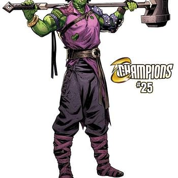 Marvel Teaser for Champions 25 Asks: Change the World as Amadeus Cho Gets Weird