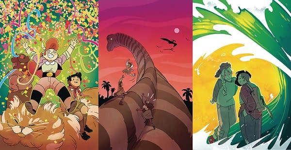 Boom Studios' Latest May and June 2020 Schedules - Triple Lumberjanes.