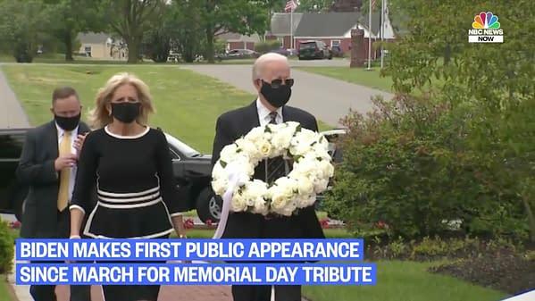 Joe Biden screencap from NBC News broadcast.