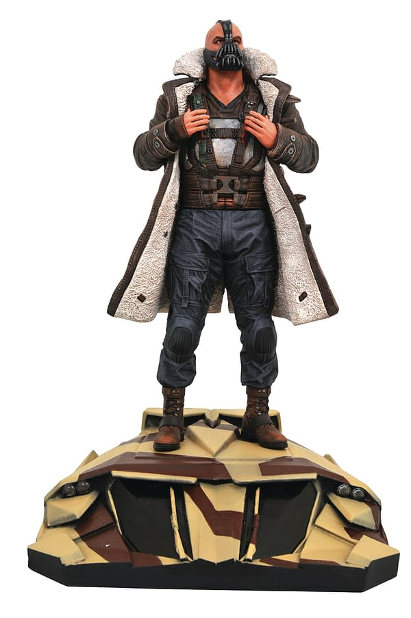Dark Knight Rises Bane Gallery Statue Diamond Select Toys