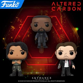 """Funko Blows Our Mind with """"Altered Carbon"""" Pop Vinyls"""
