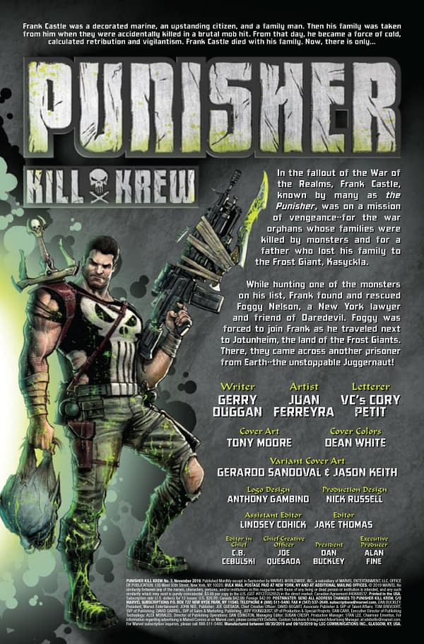 Punisher Kill Krew #3 [Preview]