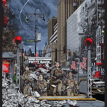 Ghostbusters Mondo Poster Ken Taylor