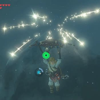 Check Out This Fireworks Display A Player Created In Breath Of The Wild