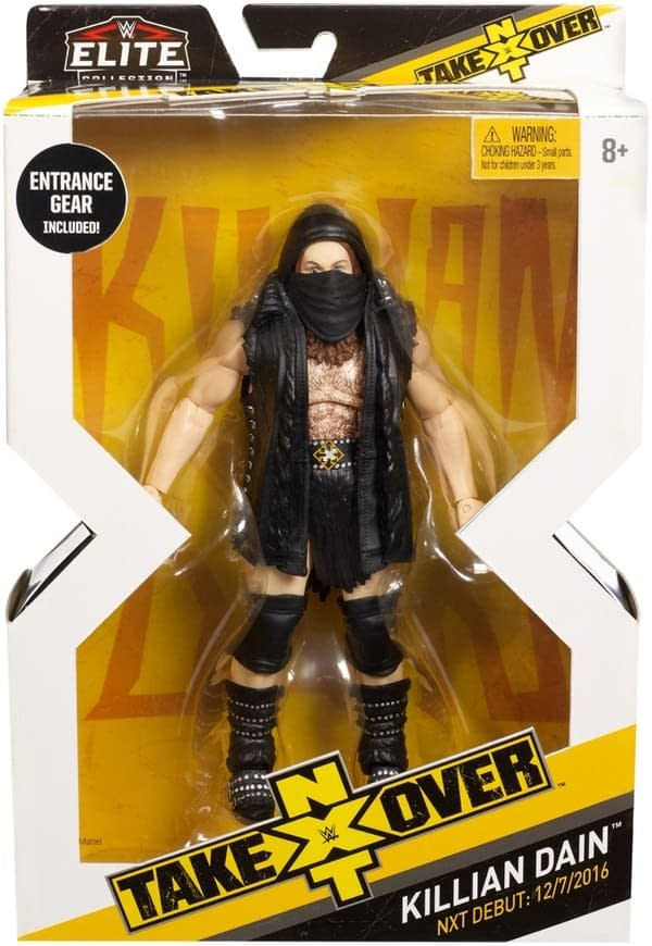 WWE NXT Killian Dain Figure 3