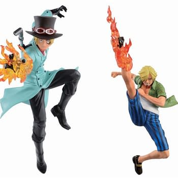 One Piece Stretches Out Their Bandai Statue Collection