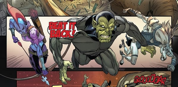 The Identity Of The Body in Marvel's Incoming #1 (Spoilers)