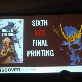Boom Studios Lied - Once & Future #1 Gets Seventh Printing