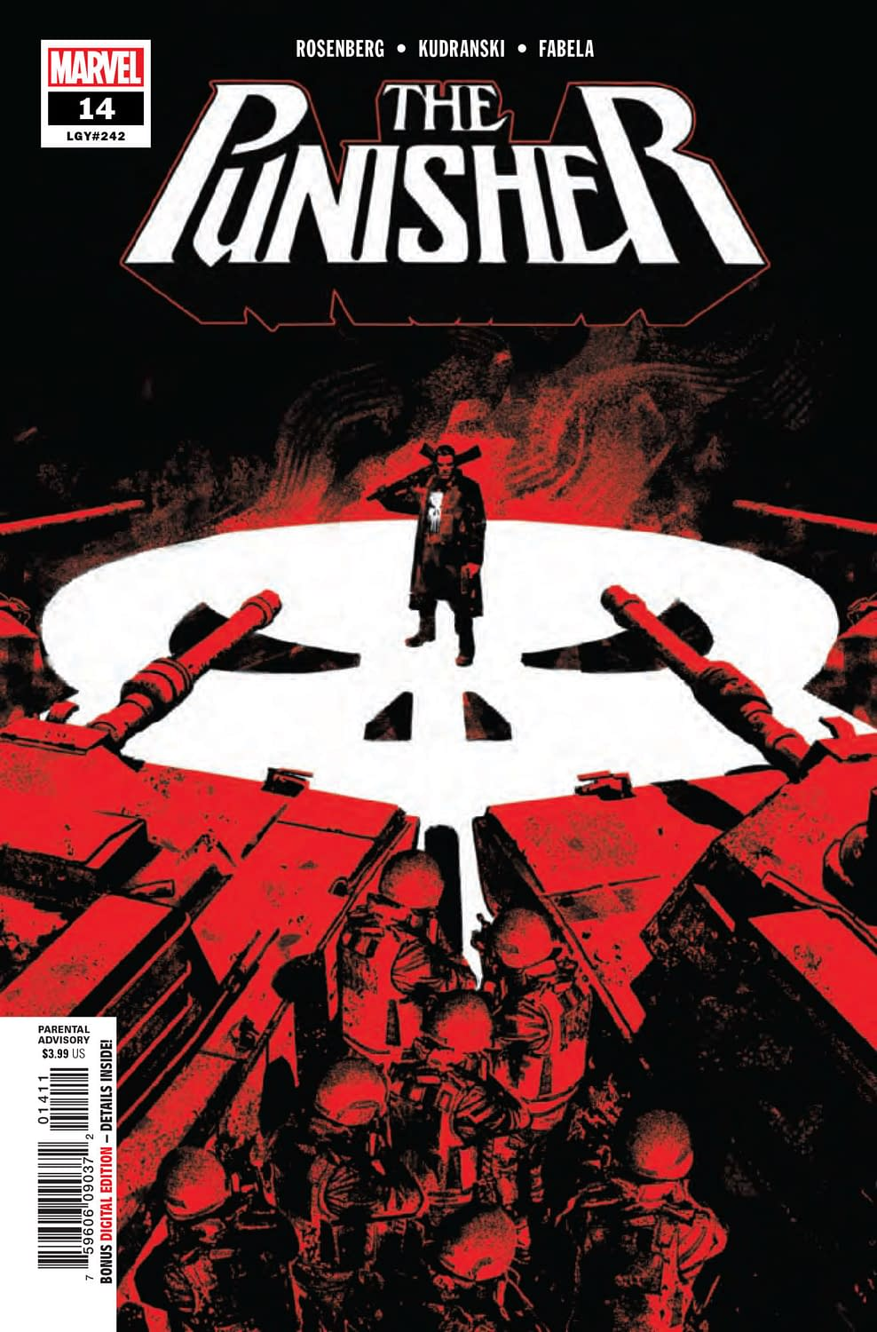 Does Auto Insurance Cover The Punisher? Punisher #14 [Preview]