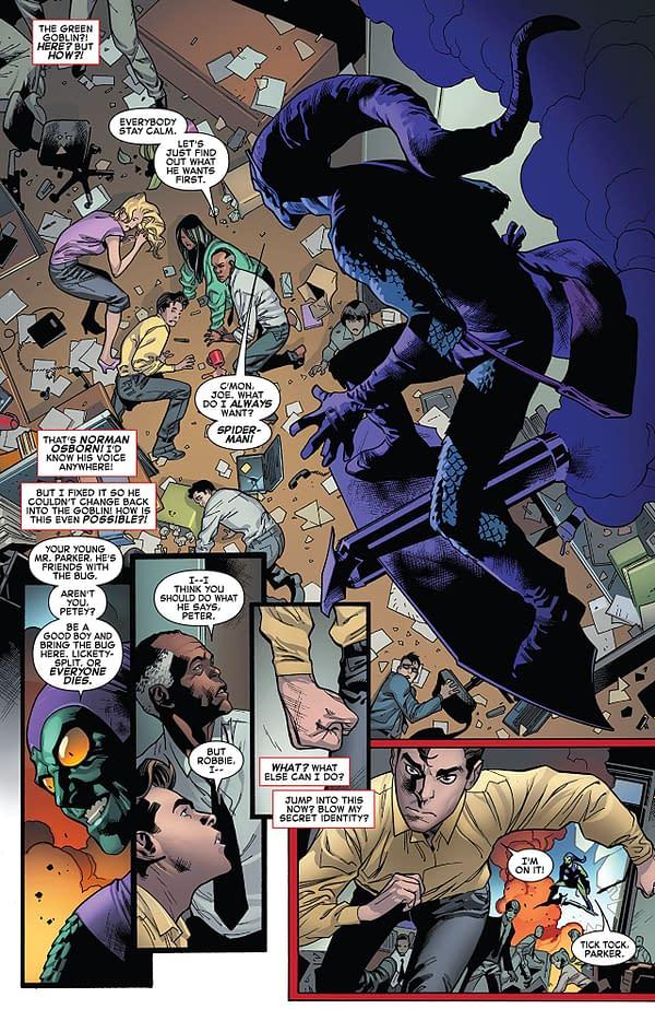 Amazing Spider-Man #798 art by Stuart Immonen, Wade von Grawbadger, and Marte Gracia