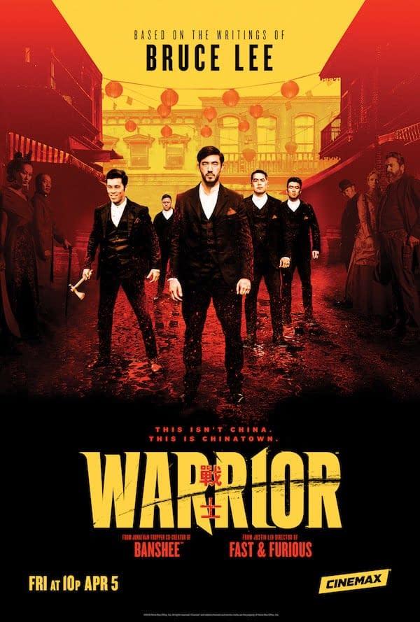 Warrior - Cinemax Poster 1
