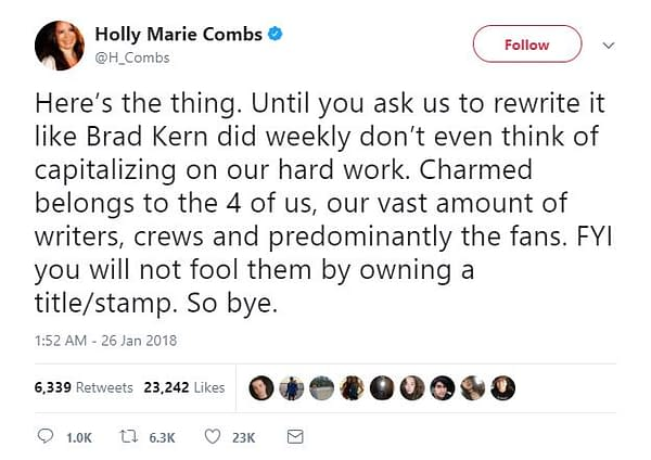 Holly Marie Combs Isn't Too 'Charmed' with CW Reboot