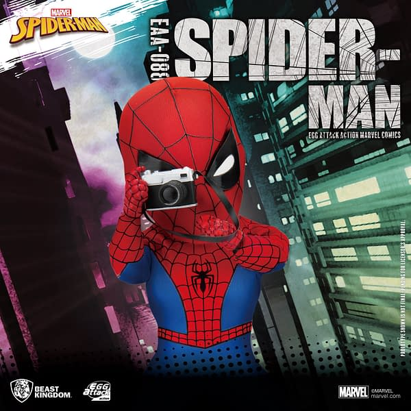 Spider-Man Gets Summer Exclusive Figure with Beast Kingdom
