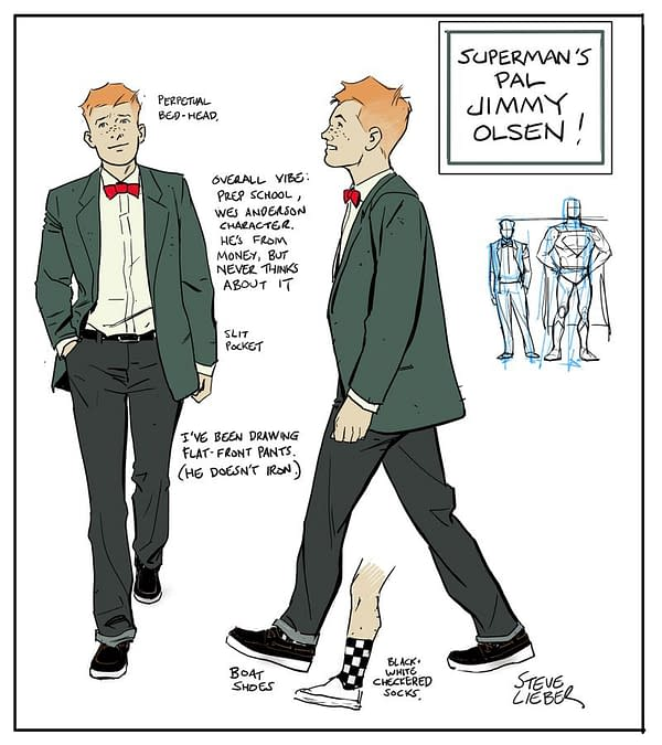 First Look at Matt Fraction and Steve Lieber's Jimmy Olsen for July