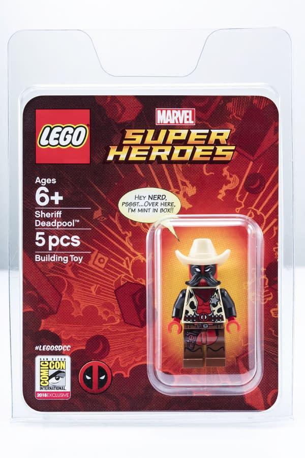 LEGO SDCC Cowboy Deadpool Minifig 2