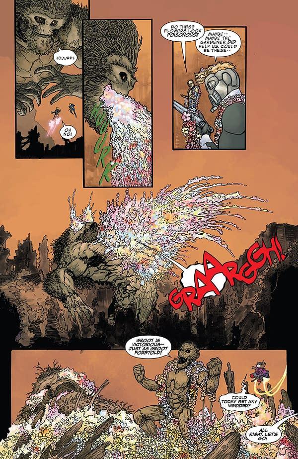 Infinity Countdown #2 art by Aaron Kuder and Jordie Bellaire