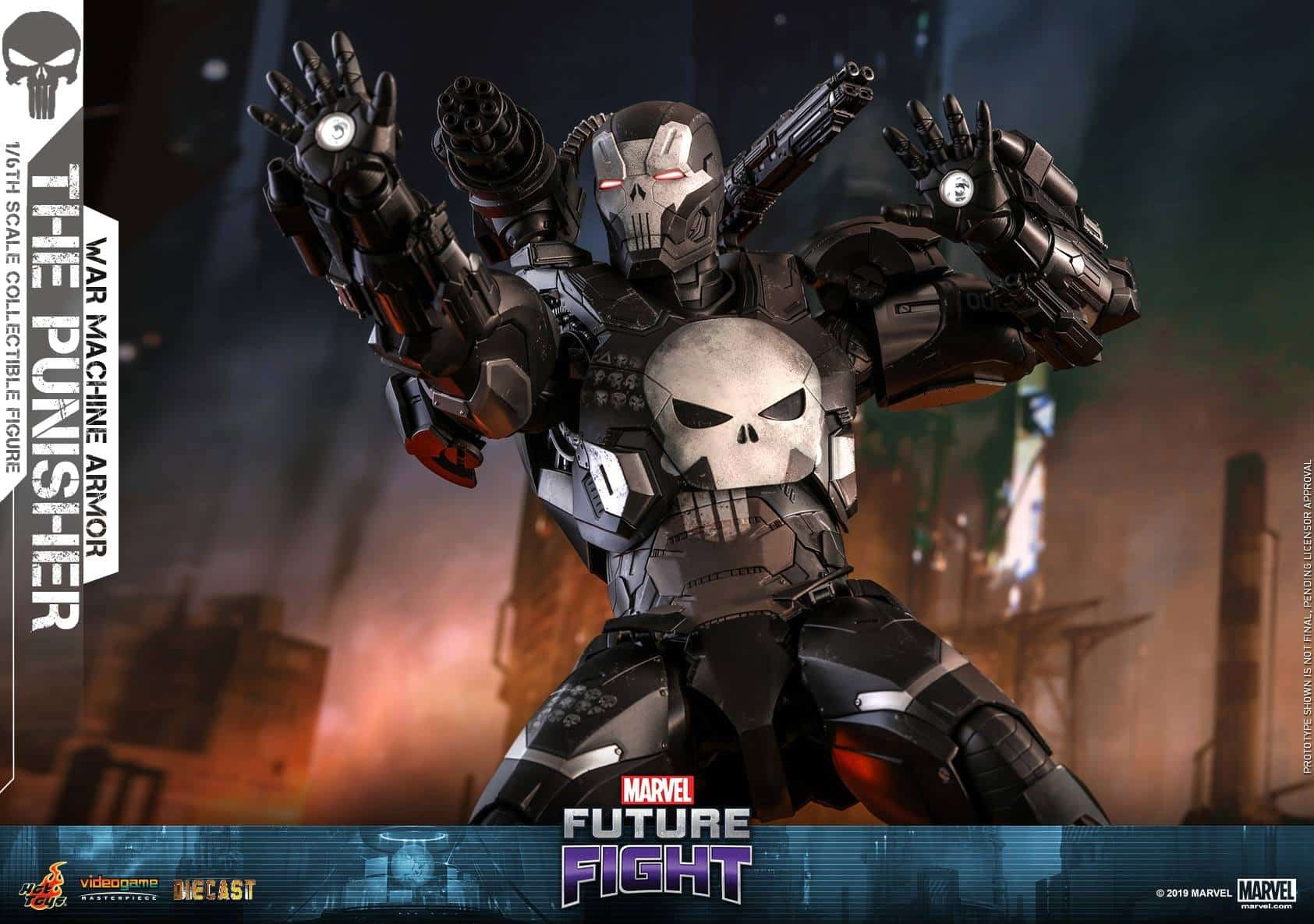 Marvel Future Fight War Machine Punisher 13