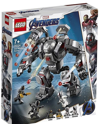 LEGO Avengers Endgame War Machine Buster 1
