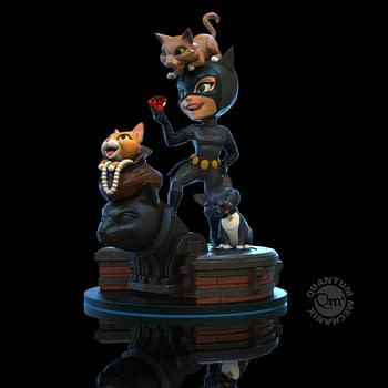 Catwoman Plays For Keeps with New QFig from Quantum Mechanix