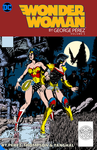 Wonder Woman George Perez Vol 5, one of many DC Big Books in 2020 and 2021