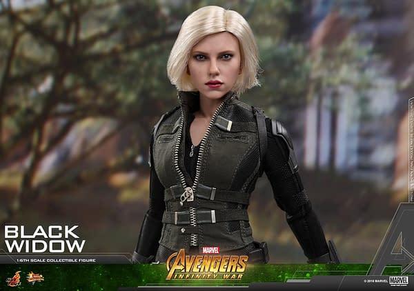 Black Widow Infinity War Hot Toys 10