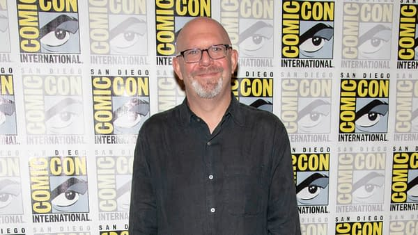 Marc Guggenheim assiste aux Comic-Con International CW's 2019