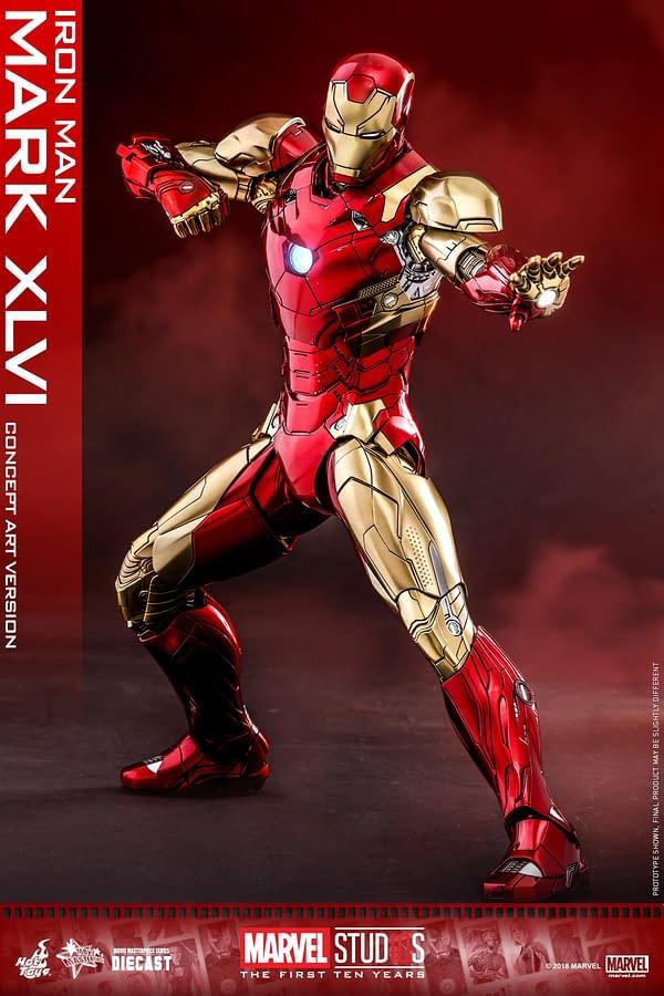 Hot Toys MCU 10th Anniversary Concept Iron Man 6