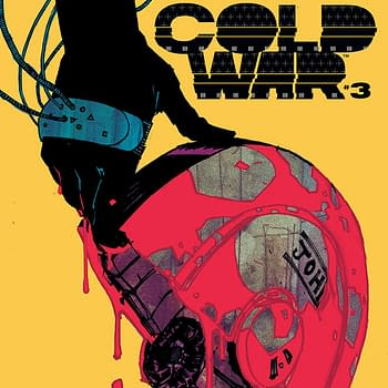 Cold War #3 cover by Hayden Sherman