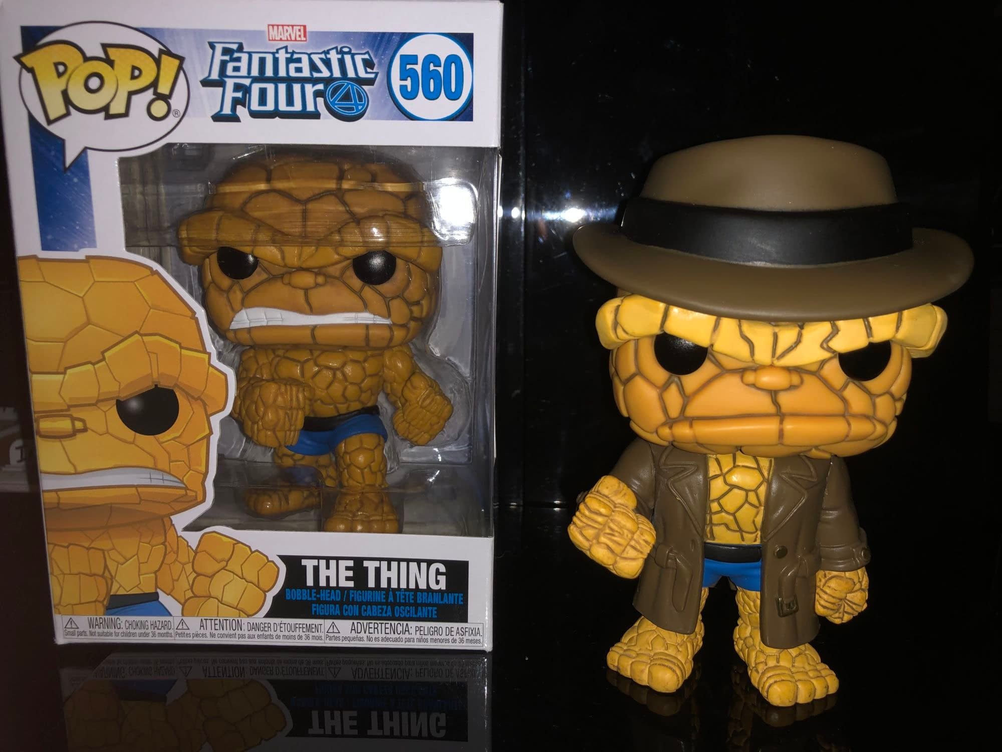 The Thing Gets a Disguise with New Fantastic Four Funko Pop