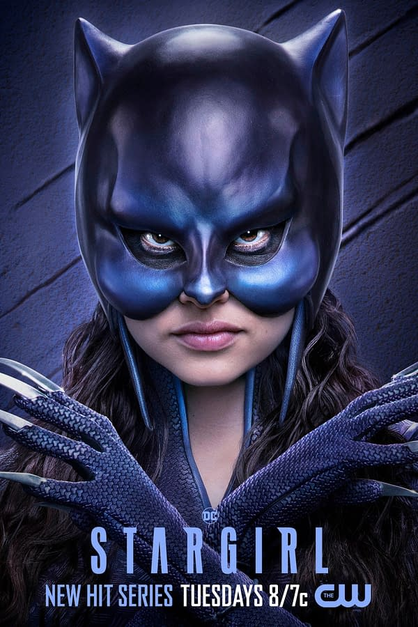 Yvette Monreal as Wildcat on Stargirl, courtesy of The CW.
