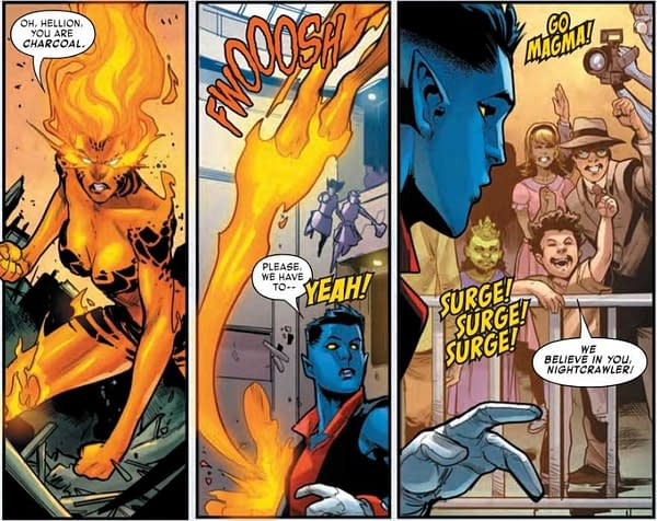 Age of X-Man Goes Full WWE in Amazing Nightcrawler #4 (Preview)