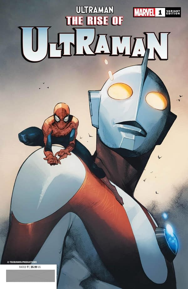 The Rise of Ultraman variant cover. Credit: Marvel.
