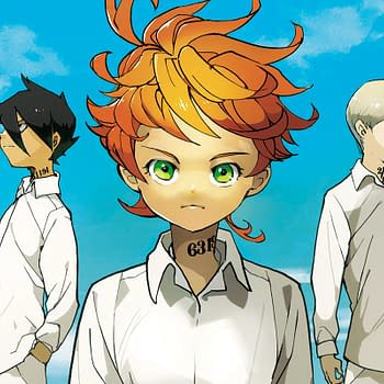 The Promised Neverland live-action series is coming to Amazon (Image: Viz)