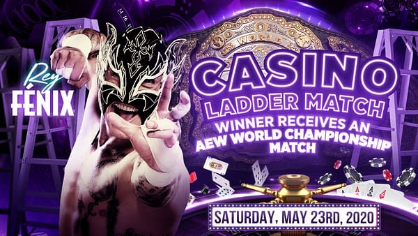 Rey Fenix is now part of the Casino Ladder Match, courtesy of AEW.