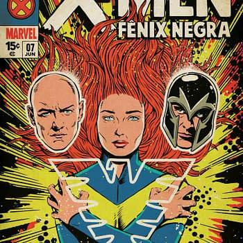 Comics-Inspired New Dark Phoenix Poster from Brazil Comic Con
