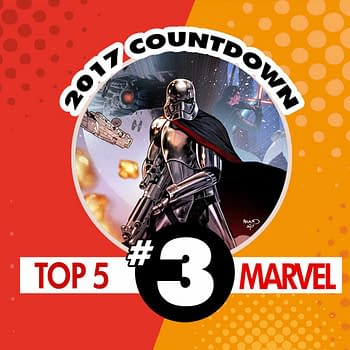 Top Marvel Comics of 2017 #3: Captain Phasma #1 by Kelly Thompson and Marco Checchetto