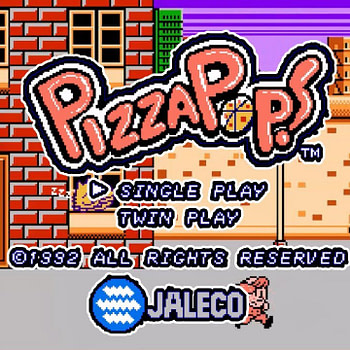 "The NES Game ""Pizza Pop!"" Just Got a Fan Translation"