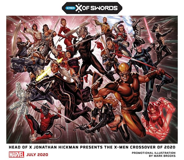 Marvel's Big X-Event: X of Swords by Jonathan Hickman, Tini Howard, and the X-Men Slack Team