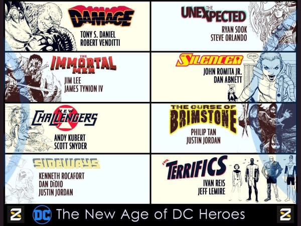 DC's New Age of Heroes