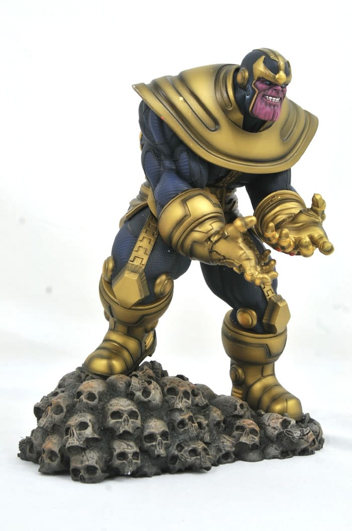 Gamestop Thanos Gallery Statue 2